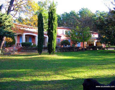 location grande villa vaucluse