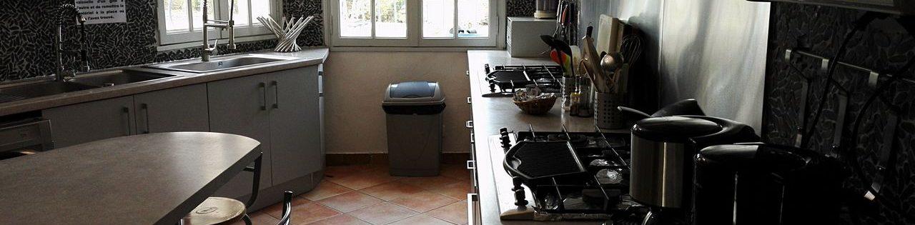 Cuisine grande villa Provence
