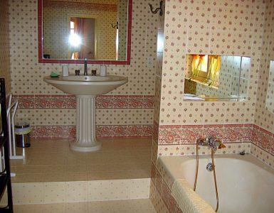 Salle de bain grande villa Provence