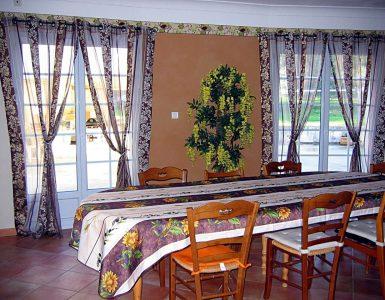 Salle grande villa Provence